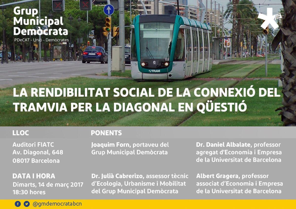 Informe de revisió de la connexió del Tramvia per laDiagonal