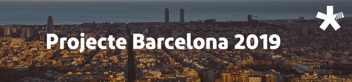 Projecte Barcelona 2019