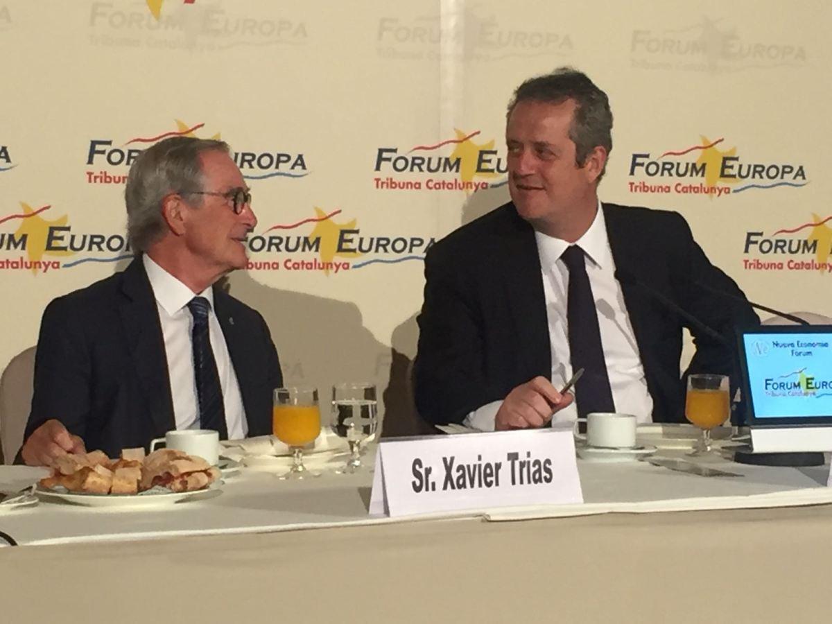Joaquim Forn confronta una Barcelona del Sí, alegre, optimista i per a tots, al pessimisme, la ciutat del No i el revengisme deColau