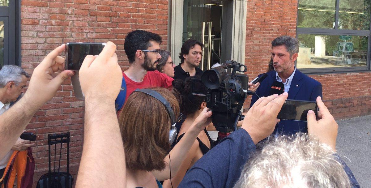 Jordi Martí demana al govern d'Ada Colau que es mantingui, ara i en el futur, la Biblioteca Clarà al barri de les TresTorres