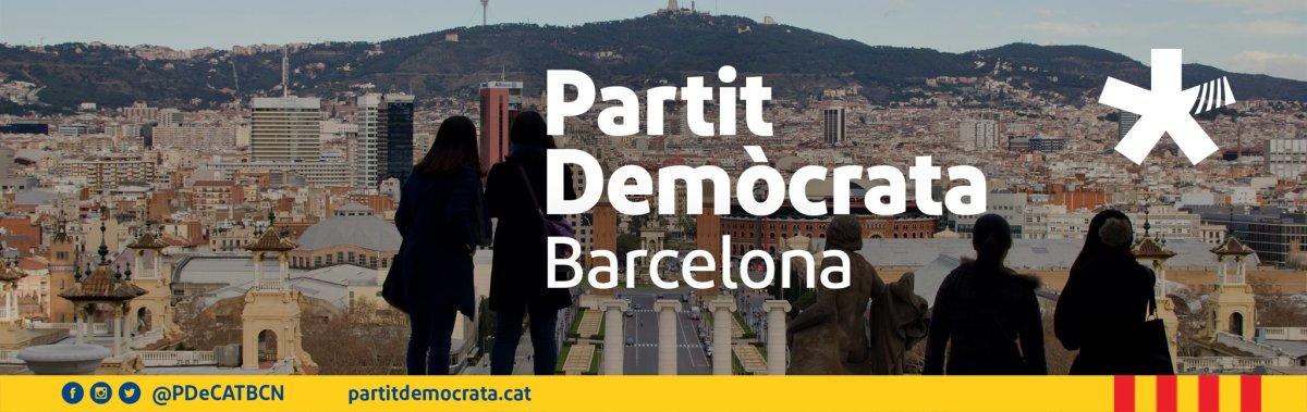 El Grup Municipal Demòcrata i el Partit Demòcrata a Barcelona unifiquen els seus perfils a les xarxes socials en@PDeCATBCN