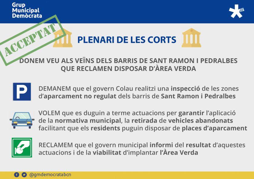 Infografia_Prec Les CORTS ZONA VERDA ACCEPTAT