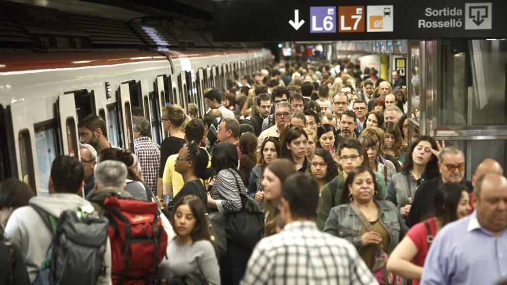La vaga del metro, un problema per atothom