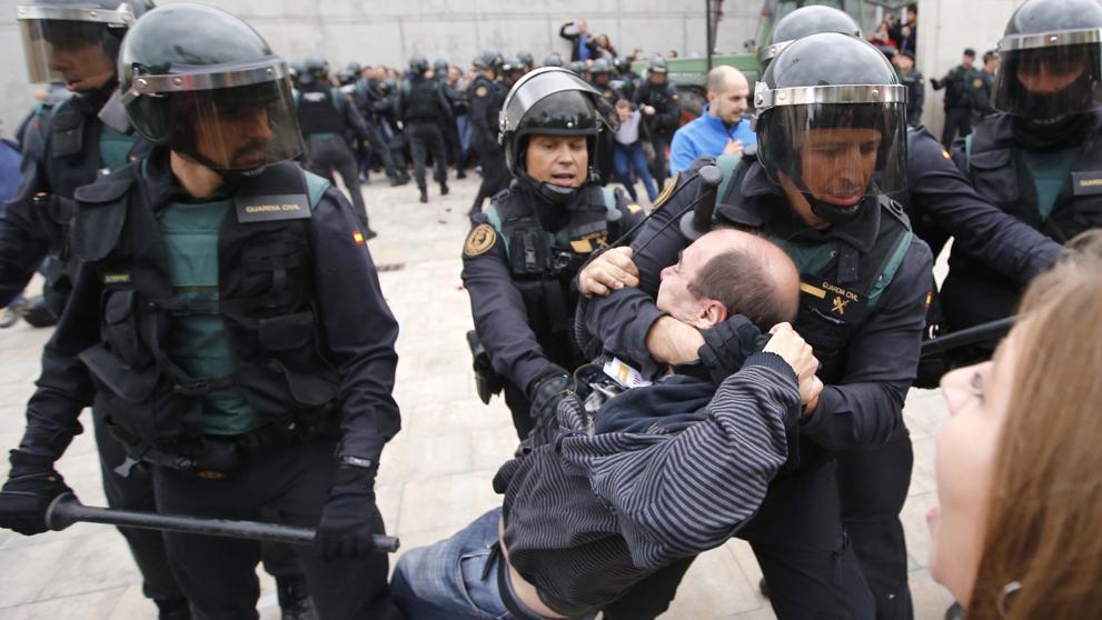 Trias porta a votació del Ple la condemna de la repressió policial l'1-O i la petició de dimissió de Rajoy, Zoido, Millo i Pérez de losCobos