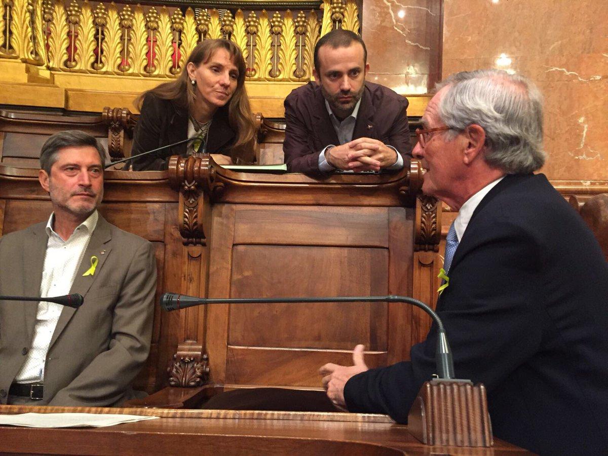 Xavier Trias demana a Ada Colau que expliqui a les capitals d'Europa que el que passa Catalunya ésinadmissible