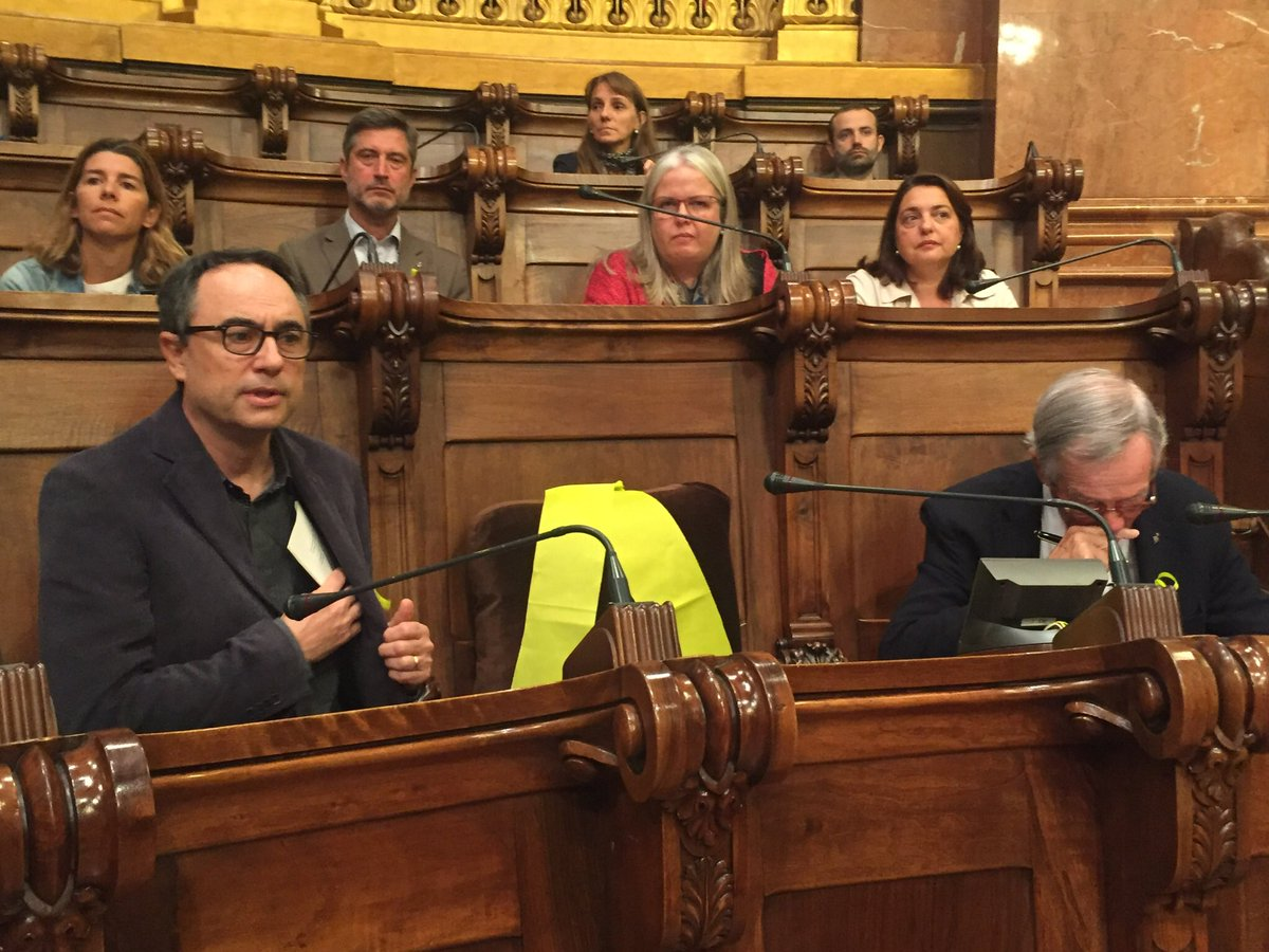Xavier Trias afirma que l'empresonament polític del govern legítim de la Generalitat és un acte de venjança dels qui ostenten els poders del'Estat