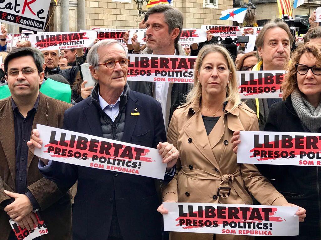 El Grup Municipal Demòcrata se suma a l'Aturada de País convocada per la llibertat dels presospolítics