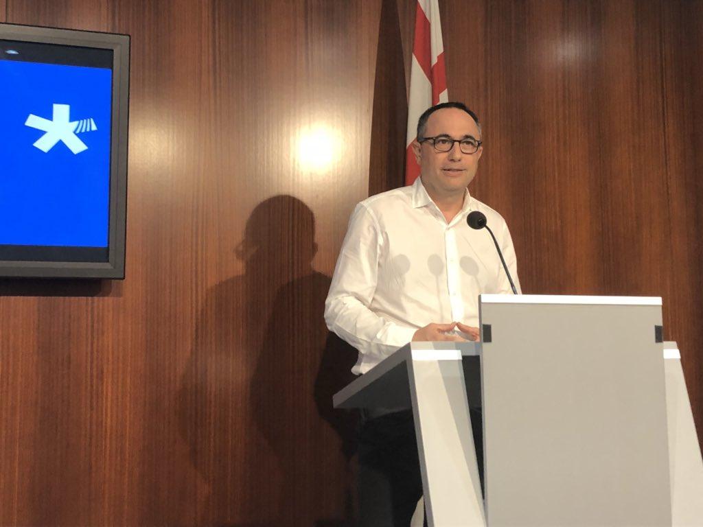 """Jaume Ciurana manté el compromís del PDeCAT i si el trencament amb el PSC és real """"estem disposats a seure i parlar""""  amb el GovernColau"""