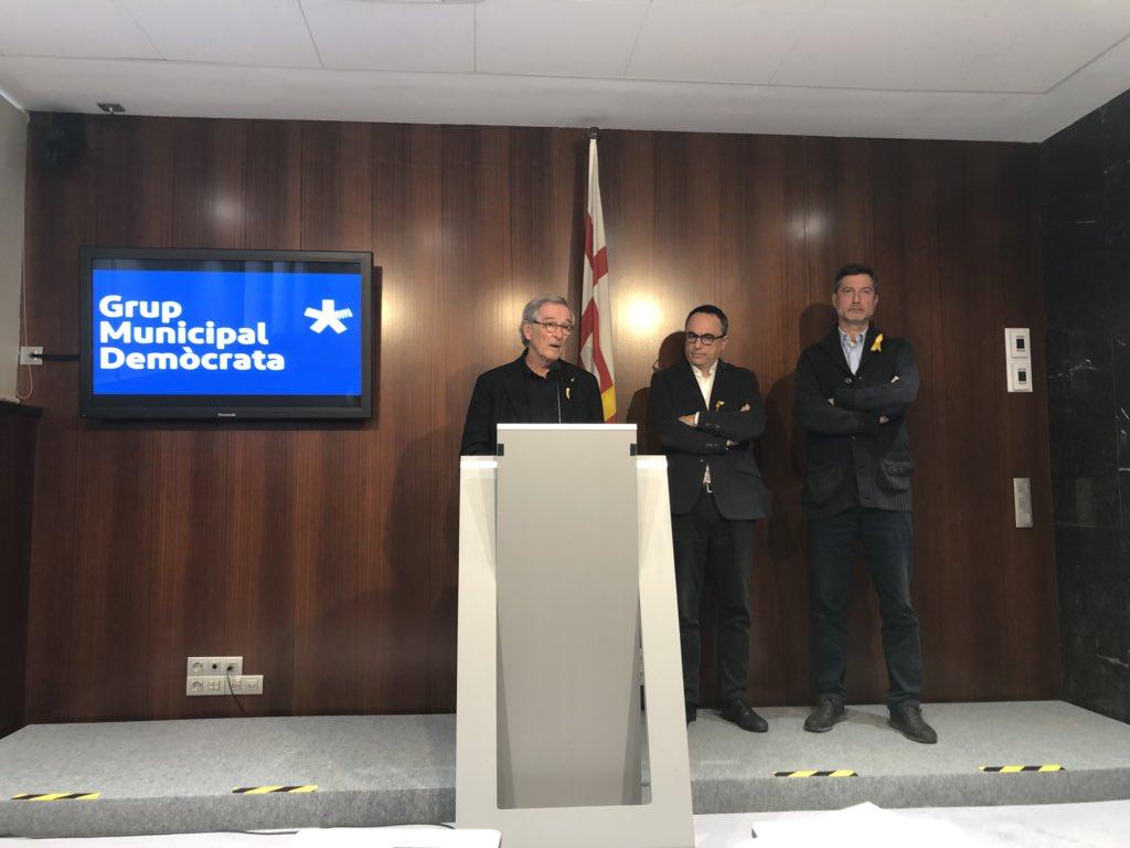 """Xavier Trias: """"Joaquim Forn, Oriol Junqueras, Jordi Sánchez, i Jordi Cuixart no són avui presos polítics, sinó que s'han convertit en ostatgespolítics"""""""