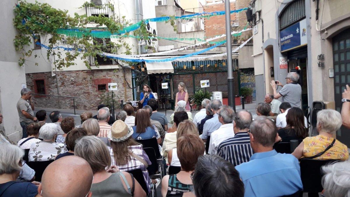 """Neus Munté clou el cicle de presentació de seu projecte """"Remuntem Barcelona!"""" als districtes de laciutat"""